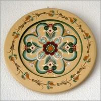 ローズモリングの絵皿