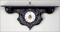 ローズモリングの時計