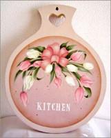チューリップのキッチンボード