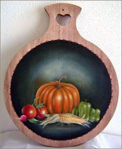 野菜のキッチンボード
